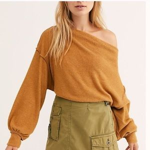NWT Free People Main Squeeze Hacci XS